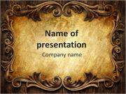Classic ornament PowerPoint Templates