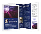 Disco ball Brochure Templates