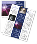 Disco ball Newsletter Template