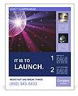Disco ball Poster Templates