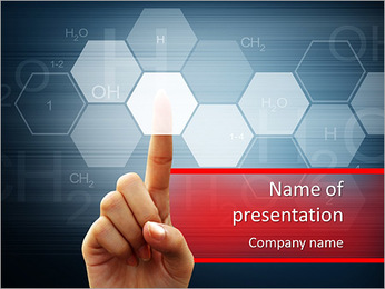 Technology of the future PowerPoint Template