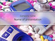 医療機器 PowerPointプレゼンテーションのテンプレート