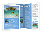 The beauty of the ocean Brochure Templates