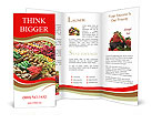 Counter vegetables Brochure Templates
