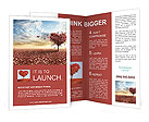 Tree heart Brochure Templates