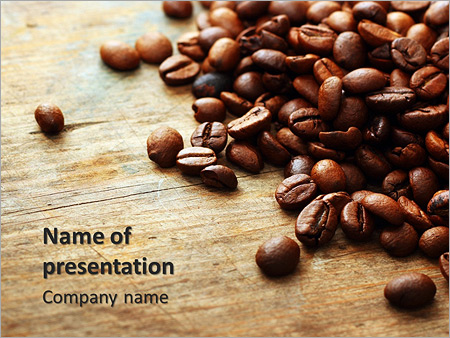 coffee beans powerpoint template backgrounds google slides id