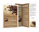 Coffee beans Brochure Templates