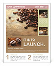 Coffee beans Flyer Template