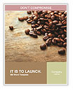 Coffee beans Word Templates