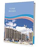 A typical building Folhetos de apresentação