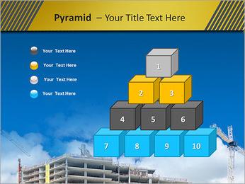 Um edifício típico Modelos de apresentações PowerPoint - Slide 11