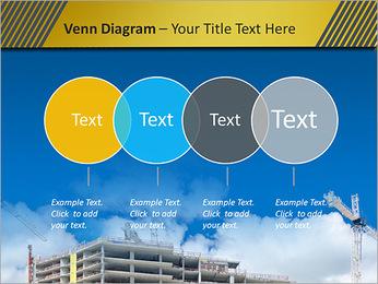 Um edifício típico Modelos de apresentações PowerPoint - Slide 12