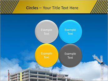 Um edifício típico Modelos de apresentações PowerPoint - Slide 18