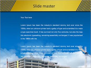 Um edifício típico Modelos de apresentações PowerPoint - Slide 2