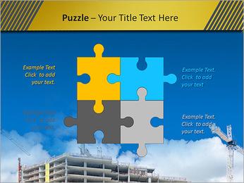 Um edifício típico Modelos de apresentações PowerPoint - Slide 23