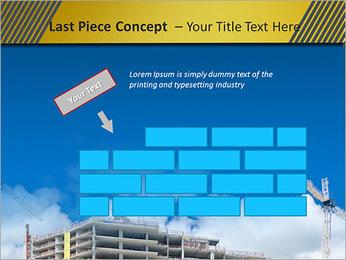 Um edifício típico Modelos de apresentações PowerPoint - Slide 26