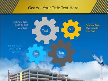 Um edifício típico Modelos de apresentações PowerPoint - Slide 27