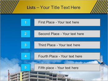 Um edifício típico Modelos de apresentações PowerPoint - Slide 3