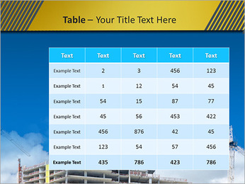 Um edifício típico Modelos de apresentações PowerPoint - Slide 35
