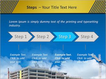 Um edifício típico Modelos de apresentações PowerPoint - Slide 4