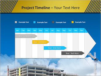 Um edifício típico Modelos de apresentações PowerPoint - Slide 5