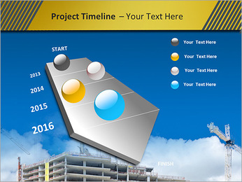 Um edifício típico Modelos de apresentações PowerPoint - Slide 6