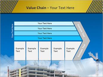 Um edifício típico Modelos de apresentações PowerPoint - Slide 7