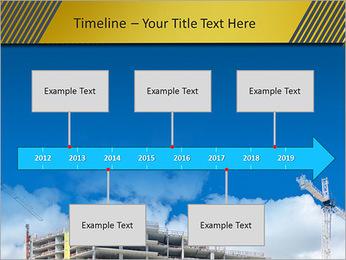 Um edifício típico Modelos de apresentações PowerPoint - Slide 8