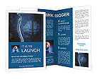 Spinal cord and brain Brochure Templates