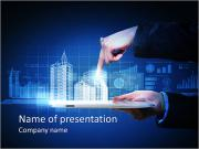 All in your hands PowerPoint Templates