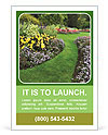 The perfect lawn Ad Templates