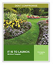 The perfect lawn Word Templates