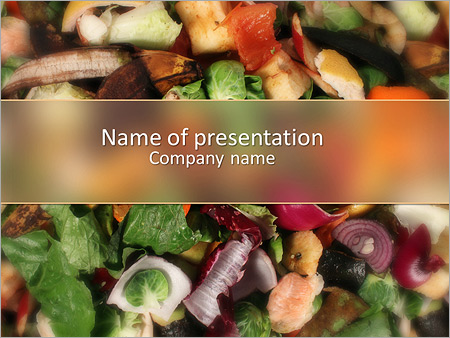 Garbage powerpoint template smiletemplates waste products recycling powerpoint templates toneelgroepblik