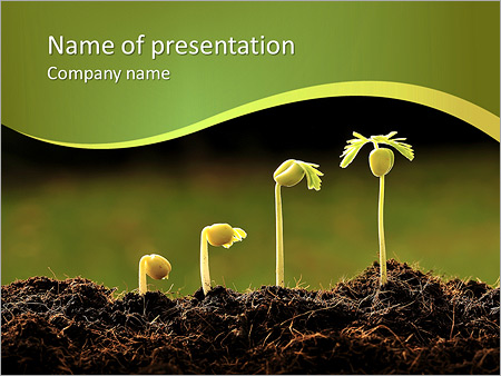 Evolution of plants powerpoint template backgrounds id 0000008458 evolution of plants powerpoint template toneelgroepblik Images