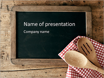 Menu PowerPoint Template