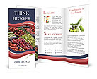 Vegetables, groceries Brochure Templates