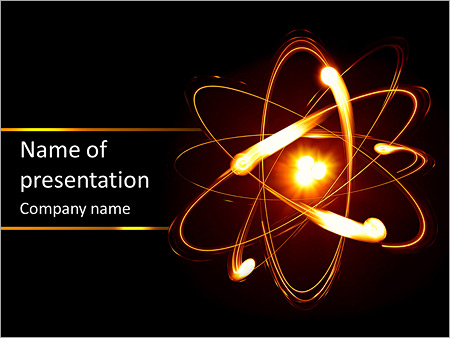 physics of the universe powerpoint template backgrounds google