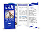 Very high high-voltage tower Brochure Templates