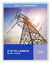 Very high high-voltage tower Word Templates