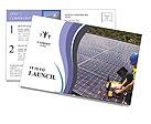 Solar Service Postcard Template