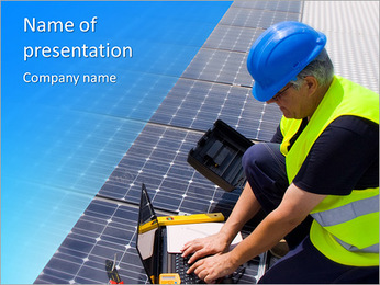 Solar Service PowerPoint Template