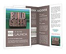 The words build green Brochure Templates