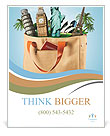 All travel in one bag, travel agency Poster Template