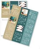 School Supplies Newsletter Template