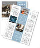Drilling rig makes harvesting Newsletter Template