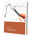 Tracking stock market charting Presentation Folder