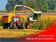 Combiner les récoltes de maïs Modèles des présentations  PowerPoint