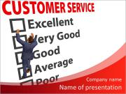 Selecting functions of customer service PowerPoint Templates