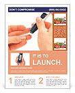 Analysis on diabetes Flyer Template