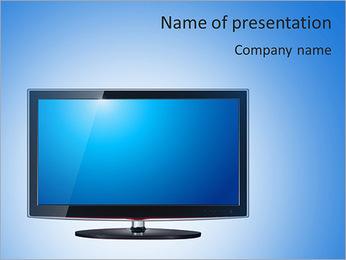 Modern TV PowerPoint Template